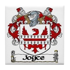 Joyce Coat of Arms Ceramic Tile