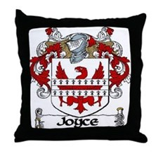 Joyce Coat of Arms Throw Pillow