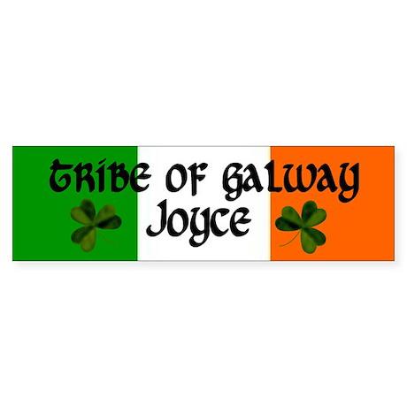 Joyce Tribe of Galway Bumper Sticker