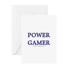 Power Gamer Greeting Card