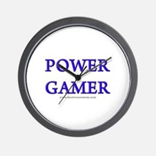 Power Gamer Wall Clock