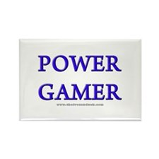 Power Gamer Rectangle Magnet