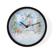 Winter Wonder Wall Clock