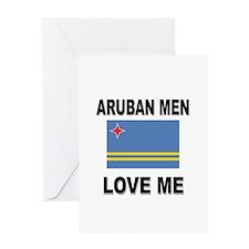 Aruban Men Love Me Greeting Card