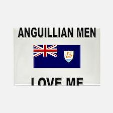 Anguillian Men Love Me Rectangle Magnet