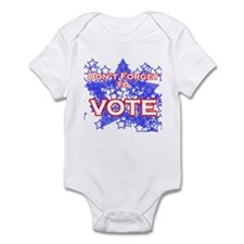 Don't Forget to Vote! Infant Bodysuit
