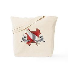 Diver's Key Tote Bag