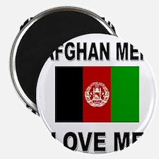 Afghan Men Love Me Magnet