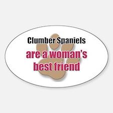 Clumber Spaniels woman's best friend Decal