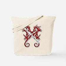 Dive Seahorse Tote Bag