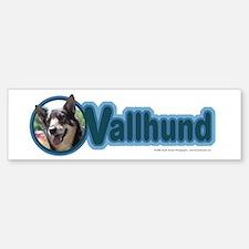 Vallhund Design Bumper Bumper Bumper Sticker