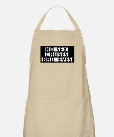 Eye Chart - No Sex BBQ Apron