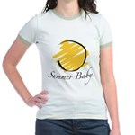 The Summer Baby Jr. Ringer T-Shirt