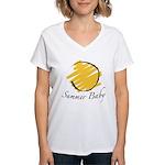 The Summer Baby Women's V-Neck T-Shirt