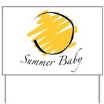The Summer Baby Yard Sign