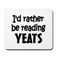 Yeats Mousepad