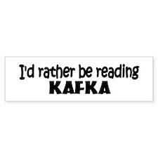 Kafka Bumper Bumper Sticker