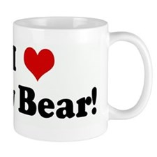I Love My Bear! Mug