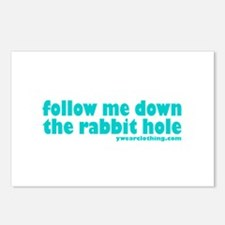 Rabbit Hole Postcards (Package of 8)