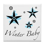 The Winter Baby Tile Coaster