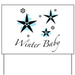 The Winter Baby Yard Sign