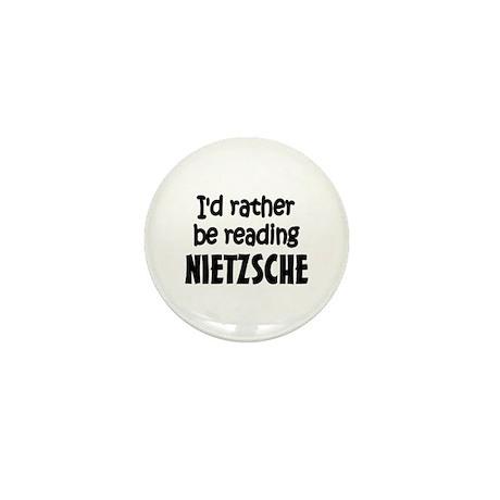 Nietzsche Mini Button (100 pack)