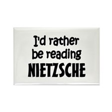 Nietzsche Rectangle Magnet