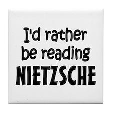 Nietzsche Tile Coaster