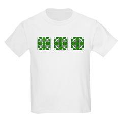 Green Owls Design T-Shirt