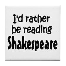 Shakespeare Tile Coaster