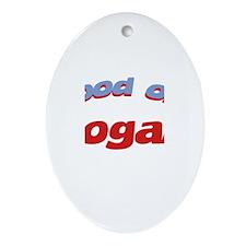 Good Old Logan Oval Ornament