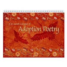 Adoption Poetry Wall Calendar