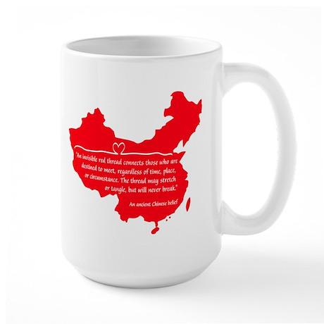 Red Thread Large Mug