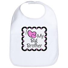 Love Big Brother Bib