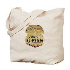 Junior G-Man Corps Tote Bag