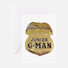 Junior G-Man Corps Greeting Cards (Pk of 10)