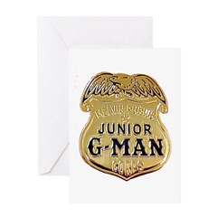Junior G-Man Corps Greeting Card
