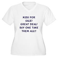 Kids For Sale Purple T-Shirt