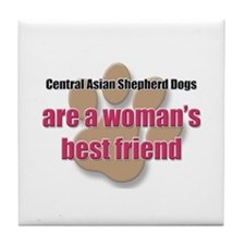Central Asian Shepherd Dogs woman's best friend Ti
