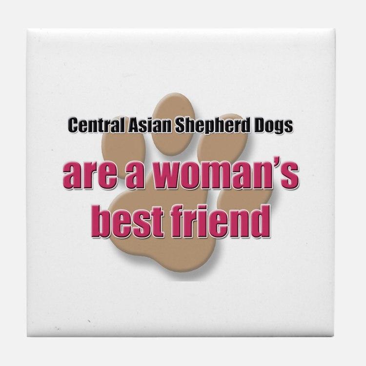 Central Asian Shepherd Dogs woman's best friend Ti