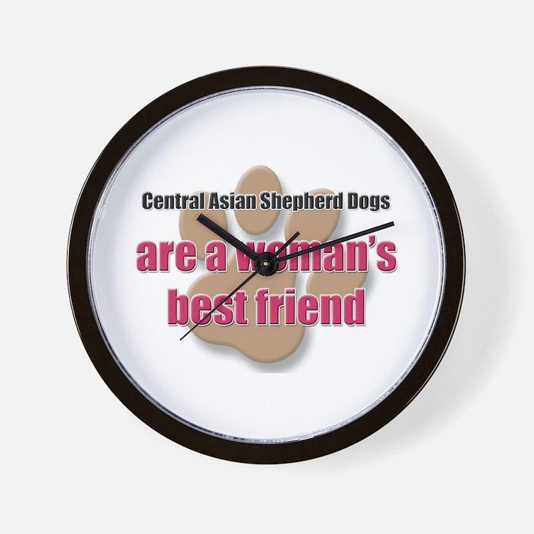 Central Asian Shepherd Dogs woman's best friend Wa