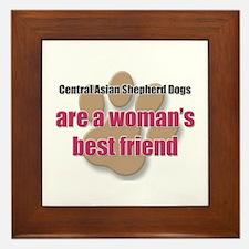 Central Asian Shepherd Dogs woman's best friend Fr