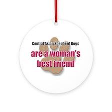 Central Asian Shepherd Dogs woman's best friend Or