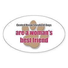 Central Asian Shepherd Dogs woman's best friend St