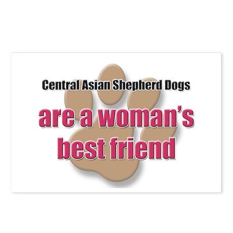 Central Asian Shepherd Dogs woman's best friend Po