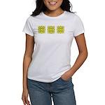 Yellow Owls Design Women's T-Shirt