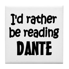 Dante Tile Coaster