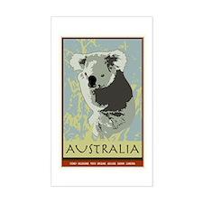 Australia I Rectangle Decal