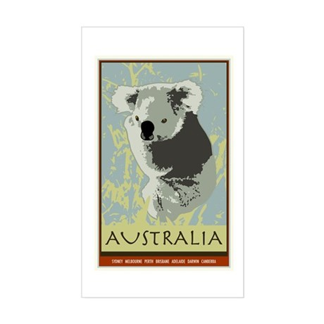 Australia I Rectangle Sticker