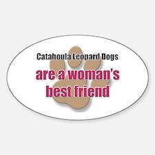 Catahoula Leopard Dogs woman's best friend Decal